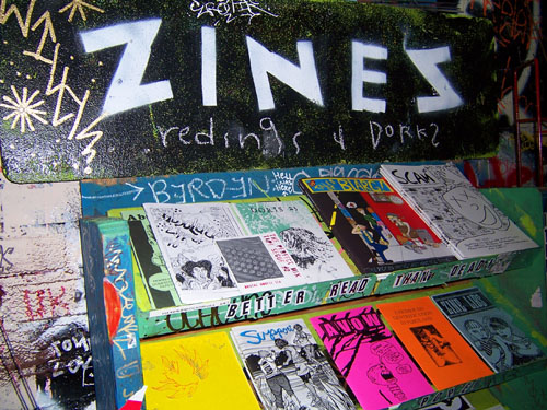 zines1 Yaels Variety Hour: Zine Olympics, Local Heroes, Humor & The Usual