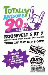 Totally Awesome 90s Flyer