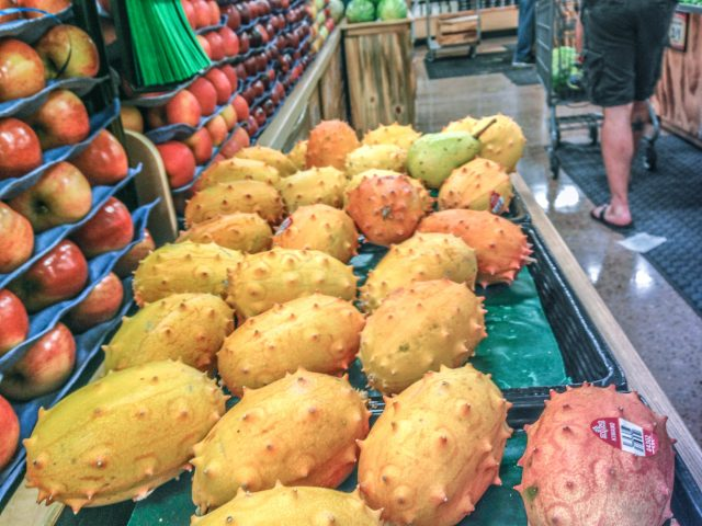 Kiwano melons? What are these intriguing horned fruits?!