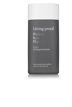 Living Proof PhD both styles and treats hair in one convenient product