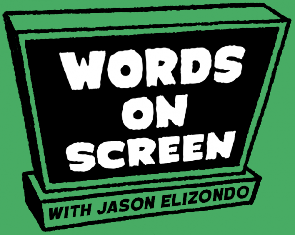 Words on Screen Logo